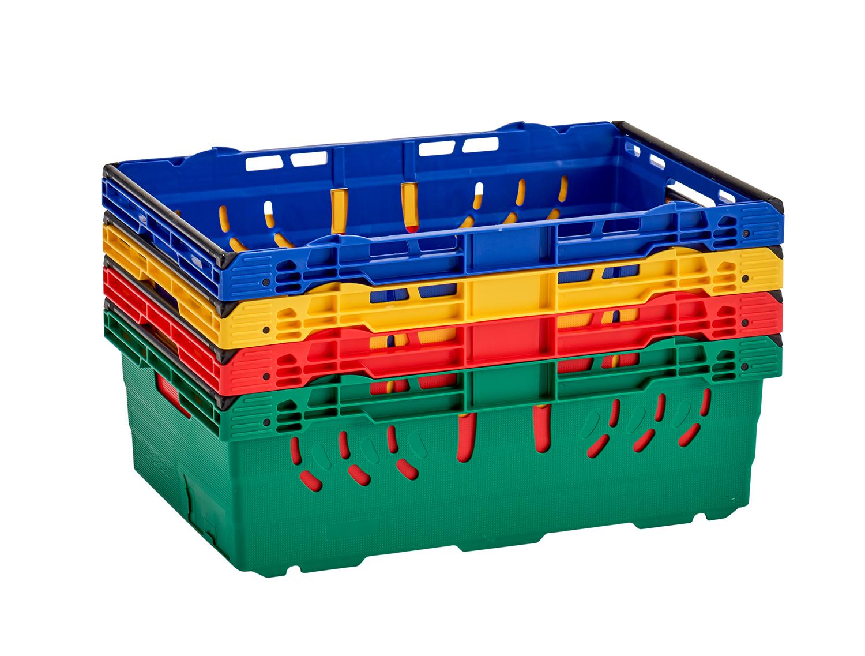 Bale Arm Plastic Crates