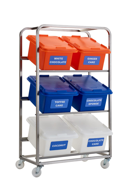 Ingredient Storage Racks
