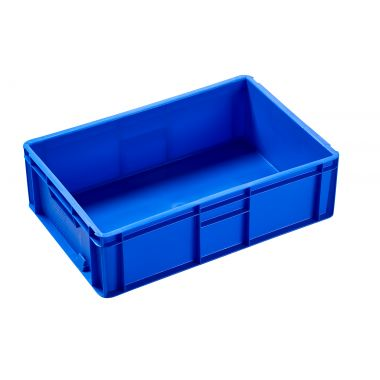 Euro Plastic Stacking Containers - 600 x 400 x 175mm