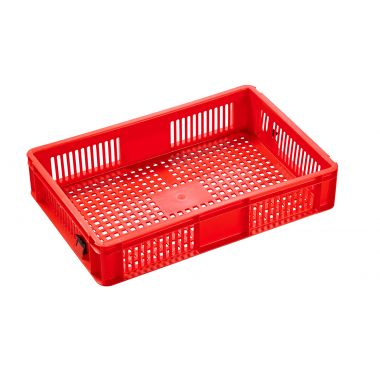 Euro Plastic Stacking Containers - 600 x 400 x 118mm