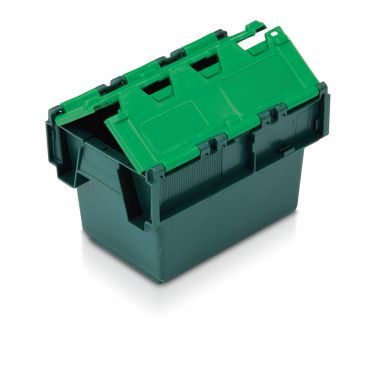 Attached Lid Containers (300 x 200 x 200mm)