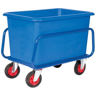 Plastic Container Truck Chassis Trolley - 227 Litre