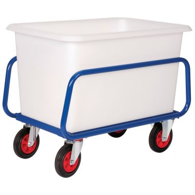 Plastic Container Truck Chassis Trolley