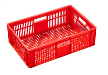 Euro Plastic Stacking Container - 600 x 400 x 170mm - 06032