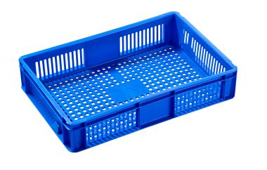 Euro Plastic Stacking Container - 600 x 400 x 118mm - 2A022