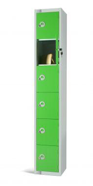 Steel Locker Six Door - LKS6