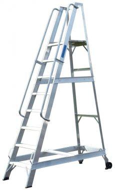 Aluminium Warehouse Steps - Mobile