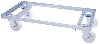 Galvanised Steel Dollies - 400 x 300mm