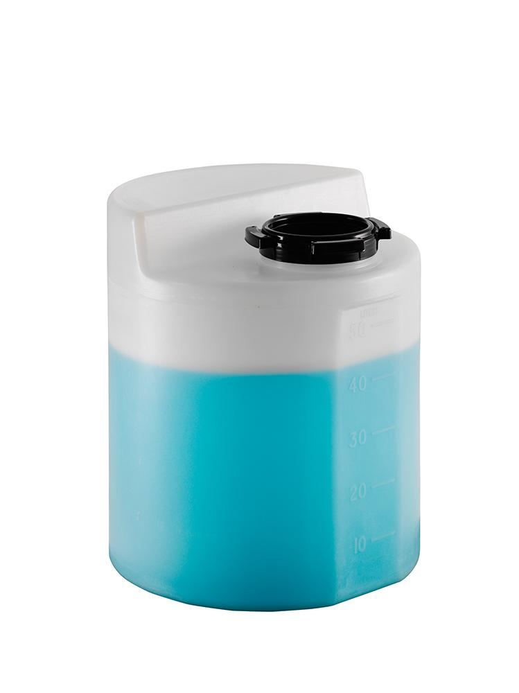 Cylindrical Plastic Holding Tanks