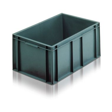 Euro Plastic Stacking Containers - 600 x 400 x 235 mm - 2A045