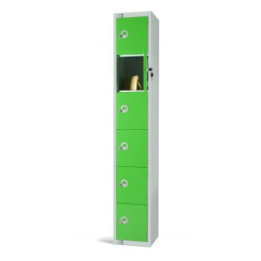 Steel Locker Six Door - LKS6