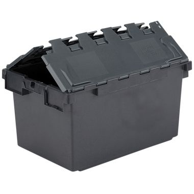 Eco Attached Lid Containers (710 x 460 x 368mm)