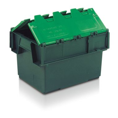 Attached Lid Container - 10020 - 400 x 300 x 252 mm