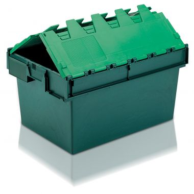 Attached Lid Containers (600 x 400 x 320mm)
