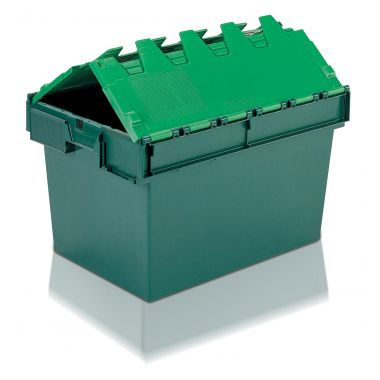 Attached Lid Container - 10A6B - 600 x 400 x 365 mm