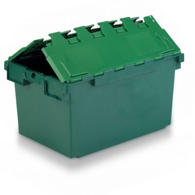 Attached Lid Container - 10A83 - 710 x 460 x 368 mm
