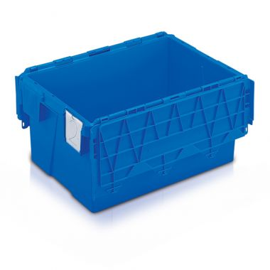 Attached Lid Containers (600 x 400 x 306mm)