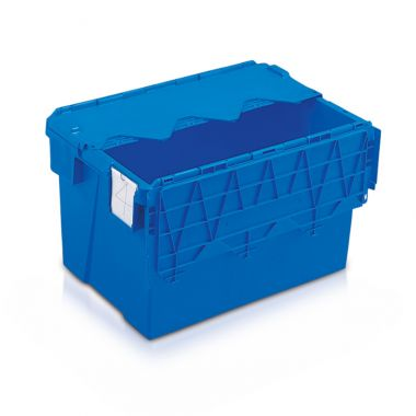Attached Lid Container - AT643604 - 600 x 400 x 365 mm