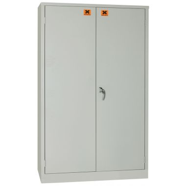 COSHH Safety Cabinet Medium With Two Shelves - CSC2