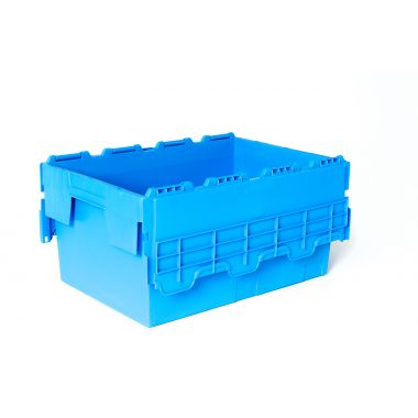 Attached Lid Crate - 55 Litres