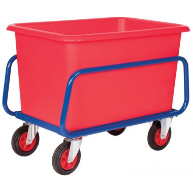 Plastic Container Truck Chassis Trolley - 320 Litre - CT320