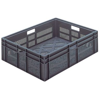 Euro Plastic Stacking Containers - 800 x 600 x 235 mm - 21091