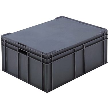 Euro Plastic Stacking Containers - 800 x 600 x 319 mm - 21135