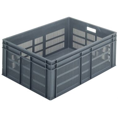 Euro Plastic Stacking Containers - 800 x 600 x 319 mm - 21136