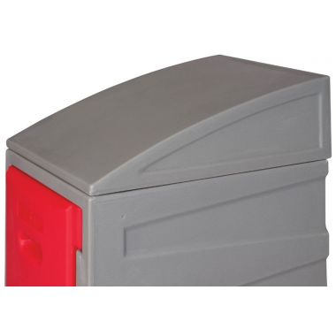 Sloping Top for Plastic Lockers