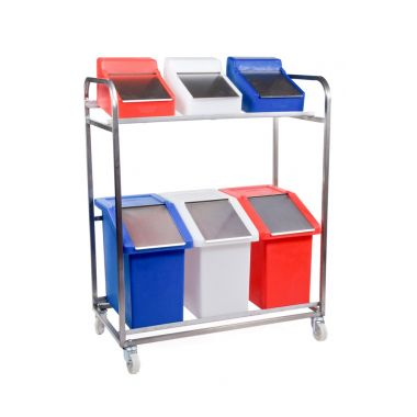 Food Ingredient Storage Trolley - RM10MTSS