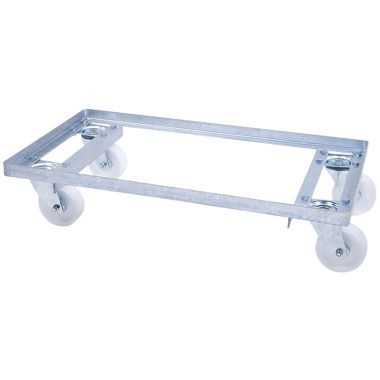Galvanised Steel Dollies - 400 x 300mm