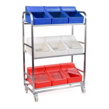 Food Ingredient Storage Trolley - RM8SS