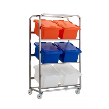 Food Ingredient Storage Trolley - RMFBRSS