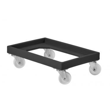 RM91DYREC Black Recycled Plastic Dolly