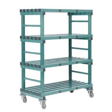 Mobile Plastic Shelving