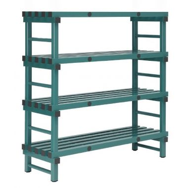 Plastic Shelving Single Bay