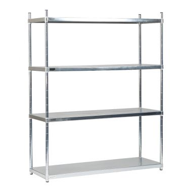 Stainless Steel Solid Shelves