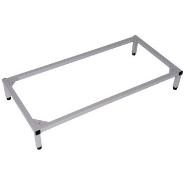 Metal Locker Stand - Holds 2 Units