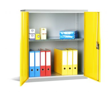 Industrial Cupboard With Double Doors Small - SCB01D