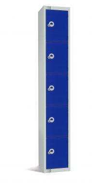 Steel Locker Five Door - LKS5