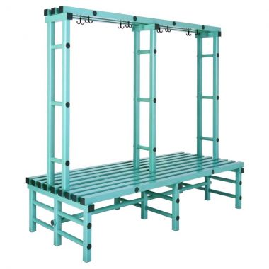 Double Sided Plastic Bench