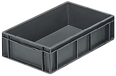 Euro Plastic Stacking Containers - 600 x 400 x 150mm