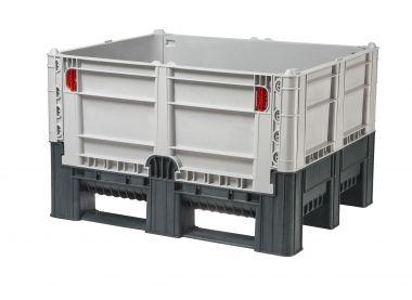 Collapsible Plastic Pallet Box - 600 Litre - FDPB1210