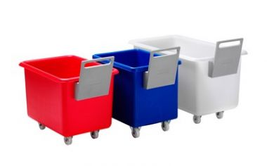 Plastic Mobile Bin with Handle - 135 Litre - RM30TR
