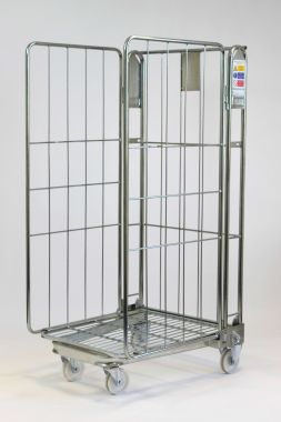Nestable Roll Cage Three Sided - NRC3