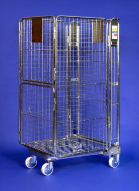 Nestable Roll Cage Split Door - NRC4 (SD)