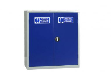PPE Cabinet With Double Doors Small - PPECO1