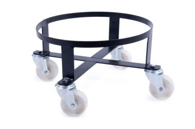 Circular Powder Coated Steel Dolly - to suit Tapered Bins