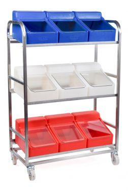 Food Ingredient Storage Trolley - RM8SS
