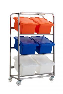 Food Ingredient Storage Trolley - RMFBRSS